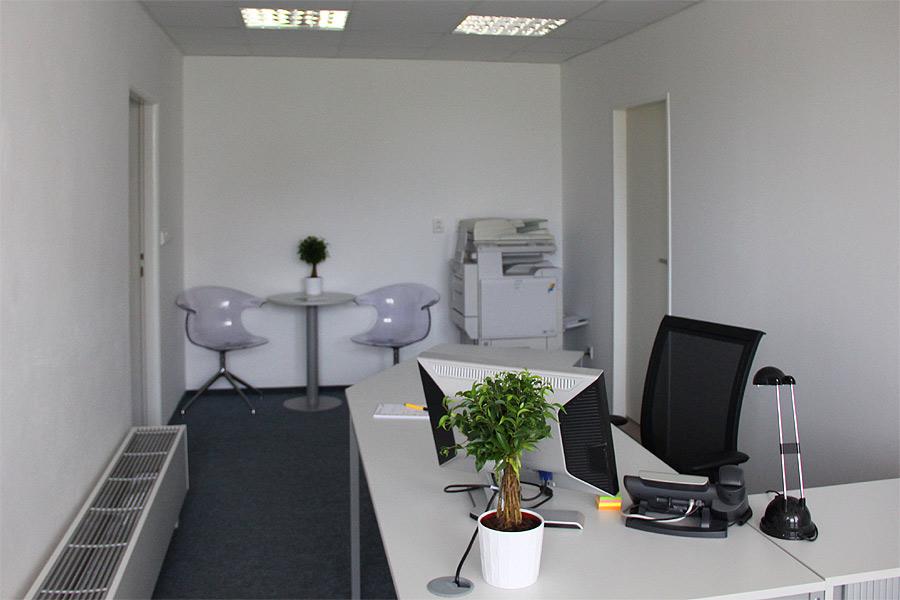 Virtuální kancelář - recepce
