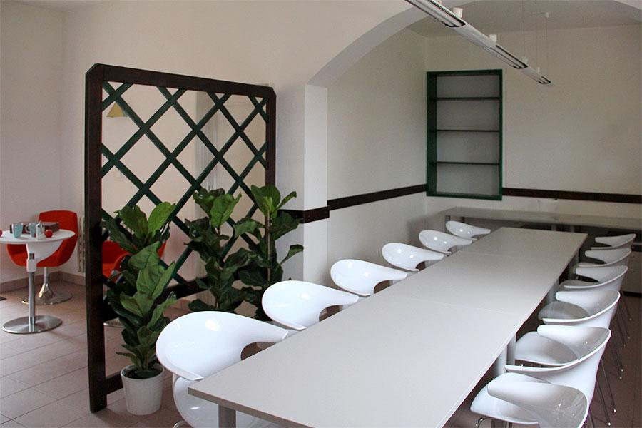 Praha 9 - zasedací místnost